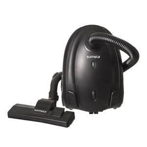Aspiradora Somela Bolsa Lavable 3 Litros Handy Clean Black 1400