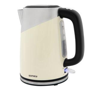 Hervidor Somela 1,7 Litros Breakfast Kettle Blanco HE1300